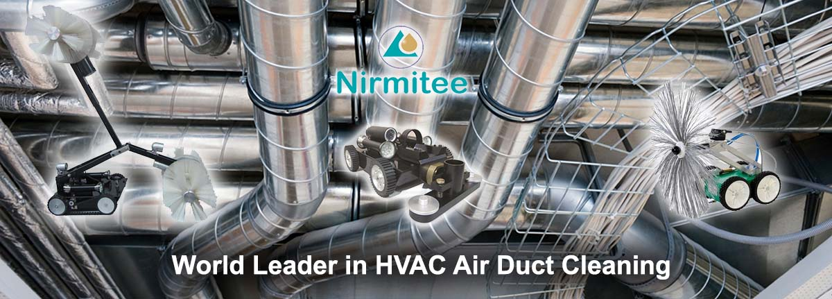 HVAC Air Duct Cleaning and Sterilization by Robots - Nirmitee Robotics