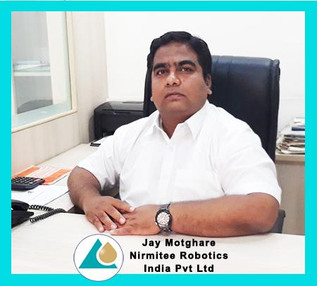 Jay Mothghare - Director, Nirmitee Robotics India Pvt. Ltd.