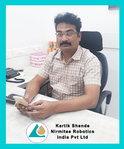 Kartik Shende - Director, Nirmitee Robotics India Pvt. Ltd.