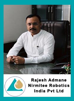 Rajesh Admane - Director, Nirmitee Robotics India Pvt. Ltd.